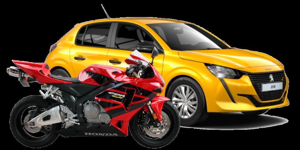 conduite accélère auto moto